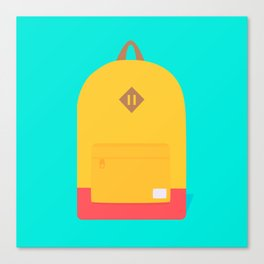 Backpack Canvas Print