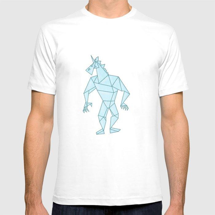 Crystal Warrior Unicorn T-shirt