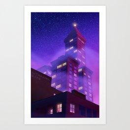 Smith Tower Art Print