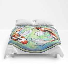 Koi Harmony Comforters