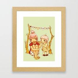 omnomnom Framed Art Print