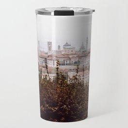 Citta Alta cityscape Travel Mug