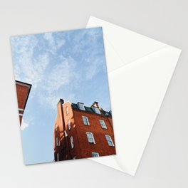 Classic London Brick House Stationery Cards