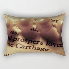 Words number 1 Rectangular Pillow