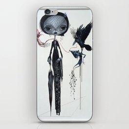 gothic kebaya iPhone Skin
