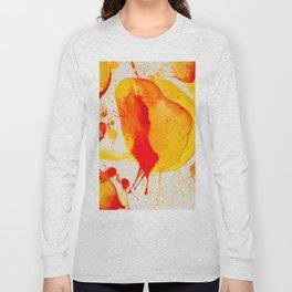 Orange Study Long Sleeve T-shirt