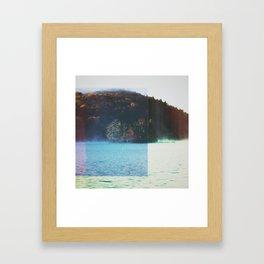 Fractions A78 Framed Art Print