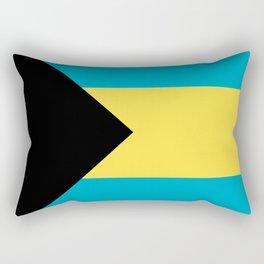 Flag: The Bahamas Rectangular Pillow