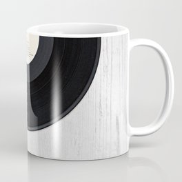 Black vintage vinyl record Coffee Mug