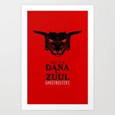 Zuul Art Print
