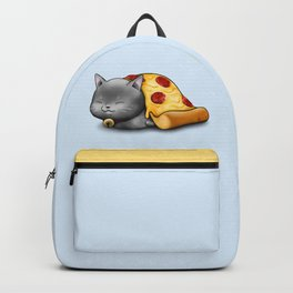 Purrpurroni Pizza Backpack