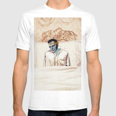 Arsenic and Old Lace Mens Fitted Tee MEDIUM White