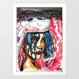 """Tank Girl"" Premo Art Print"