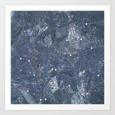 space texture Art Print