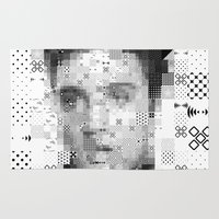elvis Area & Throw Rugs featuring Elvis by Artstiles