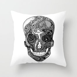 Death of the Oceans Throw Pillow