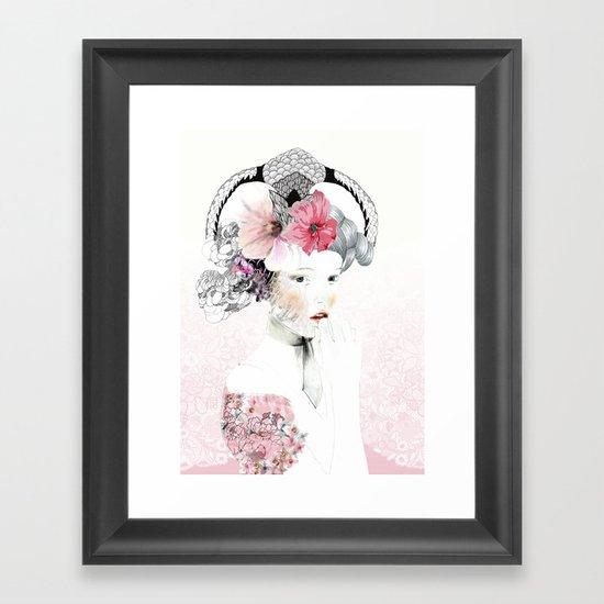 Annushka Framed Art Print