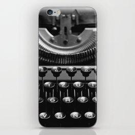 Typewriter No.4 iPhone Skin