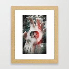 Holding all the power Framed Art Print