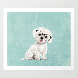 Mr Maltese Art Print
