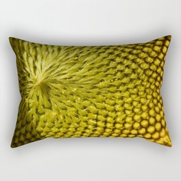Sunflower Up Close Rectangular Pillow