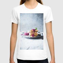waffles for breakfast #society6 #decor #buyart T-shirt