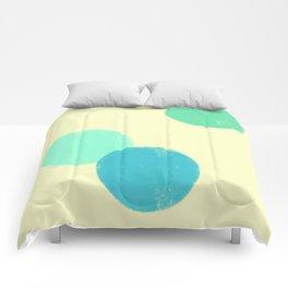 Let's Appreciate Our Shapes no.9 - modern minimalist art Comforters