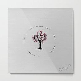Aestethic Tree Metal Print