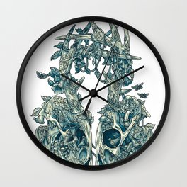 Lichen Wall Clock