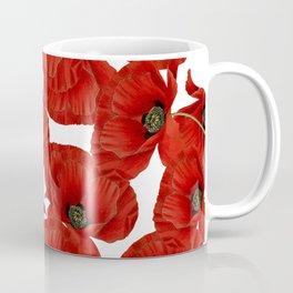 Poppy flower pattern Coffee Mug
