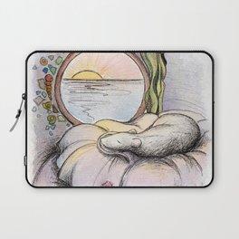 Nap Time, Illustration Laptop Sleeve