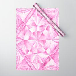 Cobalt Violet Pattern Wrapping Paper