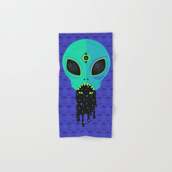 Alien Flu Hand & Bath Towel