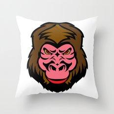 MONKEY BIZ Throw Pillow