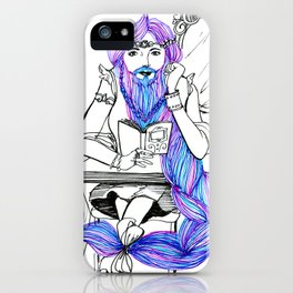The Bearded Lady iPhone Case