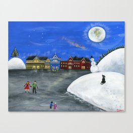 Hilly Hope Canvas Print