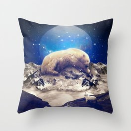 Under the Stars | Ursa Major II Throw Pillow