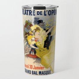 Belle Epoque vintage poster, French Theater, Theatre de L'Opera Travel Mug