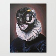 Portrait Of A Black Ranger Canvas Print