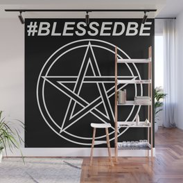 #BLESSEDBE Wall Mural