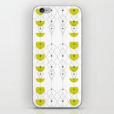 50ies Green iPhone Skin