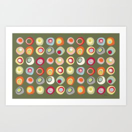 Atomic Dots III Art Print