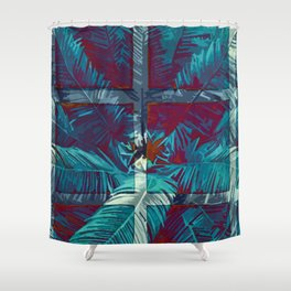 Morning Palm Shower Curtain