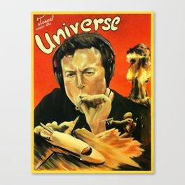 Elon Musk Universe Canvas Print