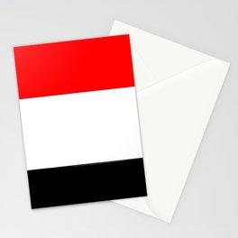 Flag of yemen 2 -yemen,اليَمَن ,Yemeni, Yemenite,Sabaeans,Aden, يمني Stationery Cards