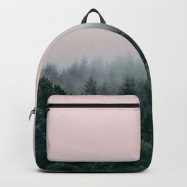 Forest in Pink Backpack