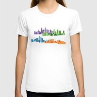 cities T-shirts featuring Australian Cities by S. Vaeth