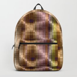 Multi-colored pattern .2 Backpack