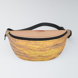 Golden hour at the sea Fanny Pack