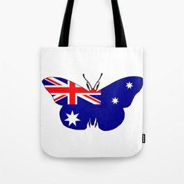 Australian Flag - Butterfly Tote Bag